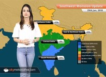 Monsoon Forecast for June 26, 2018: Heavy Monsoon rain in Mumbai, Gujarat, Goa