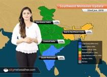 Monsoon Forecast for June 23, 2018: Monsoon rain in Mumbai, Odisha, Maharashtra