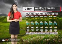 Weather Forecast for Nagaland from June 19 to 25