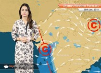 Weather Forecast for June 25: Heavy rain in Mumbai, Goa, Karnataka; dust storm in Delhi