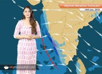 Weather Forecast for June 14: Heavy rain in Northeast India, hot weather in Delhi
