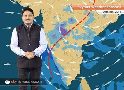 Weather Forecast for June 20: Rain in Mumbai, Maharashtra, Chhattisgarh, hot in Delhi, Haryana