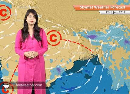 22 जून मौसम पूर्वानुमान: महाराष्ट्र, बिहार, झारखंड में वर्षा; दिल्ली में मौसम शुष्क और गर्म..