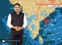 Weather Forecast for June 7: Rain in coastal Karnataka, Mumbai and Gujarat; dust storm in Delhi