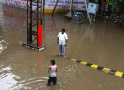 Flooding rains in Valsad, parts of South Gujarat; more showers ahead
