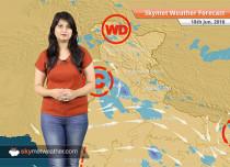 Weather Forecast for June 18: Rain in Delhi, Chandigarh, Mumbai