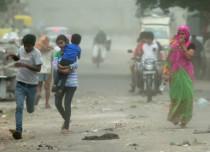 delhi-rain dust storm