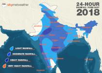 Southwest Monsoon forecast for July 13 across India