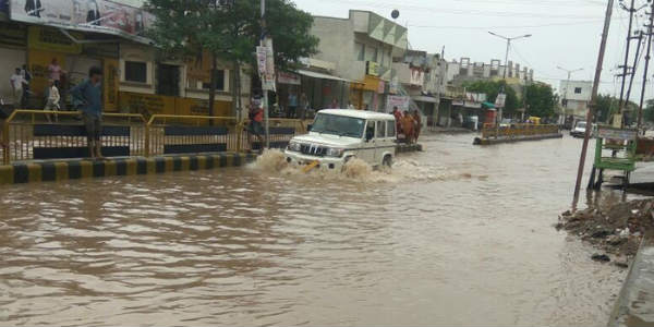 july 2018 gujarat flood Gujarat Floods: No relief in offing as more heavy showers ahead  july 2018 gujarat flood