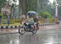 Top 10 rainiest places in India on Friday