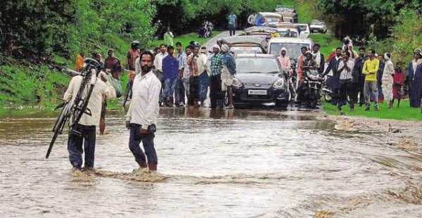 Heavy Rain in Madhya Pradesh--Hindustan Times 600