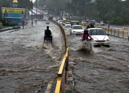 Monsoon rains In MP