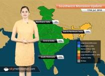 Monsoon Forecast for July 18, 2018: Rain in Gujarat, Vidarbha, South Madhya Pradesh