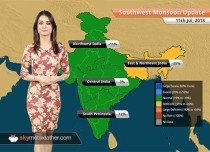 Monsoon Forecast for July 12, 2018: Rain in Delhi, Rajasthan, Gujarat