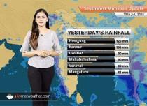 Monsoon Forecast for July 20, 2018: Monsoon rains to continue in Madhya Pradesh, Chhattisgarh, Rajasthan, Gujarat