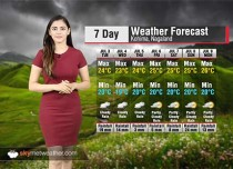 Weather Forecast for Nagaland from July 3 to 9