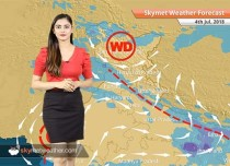 Weather Forecast for July 4: Surat, Mumbai rains to continue, heavy showers in Himachal, Uttarakhand