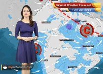 Weather Forecast for July 12: Heavy rain in MP to trigger flooding; Mumbai rains to continue