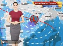Weather Forecast for July 15: Rain in Mumbai, Delhi, Ahmedabad, Jaipur, Surat
