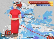 Weather Forecast for July 22: Rain in Delhi, Mumbai, Jaipur, Chandigarh