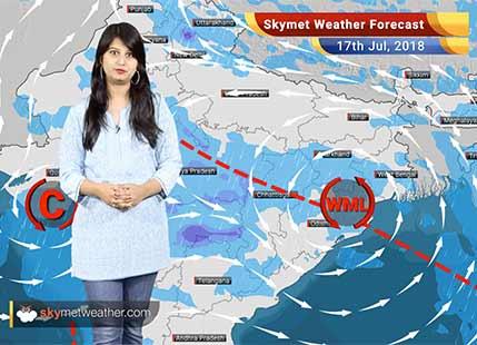 17 जुलाई मौसम पूर्वानुमान: मुंबई, दिल्ली, मध्य प्रदेश, छत्तीसगढ़, ओडिशा में वर्षा..
