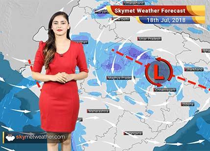 18 जुलाई मौसम पूर्वानुमान: मध्य प्रदेश, छत्तीसगढ़, गुजरात, राजस्थान में वर्षा..