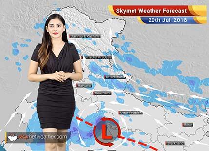 20 जुलाई मौसम पूर्वानुमान: उत्तराखंड में भूस्खलन, दिल्ली, मध्य प्रदेश, राजस्थान में बारिश..