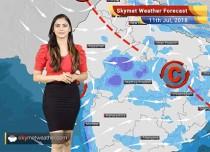 Weather Forecast for July 11: Heavy rain in Madhya Pradesh, Rajasthan, Maharashtra
