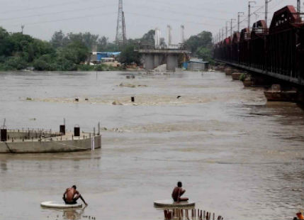 Yamuna water is on rise