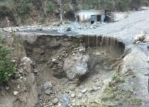 Cloudburst in Kashmir