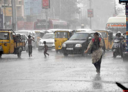 Heavy showers in Adilabad, Nizamabad, Warangal; Hyderabad rains to remain light