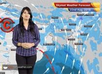 Weather Forecast for August 22: Rain in Rajasthan, Madhya Pradesh, Himachal, Punjab