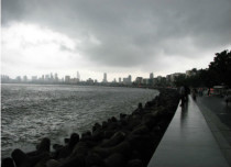 Showers in Mumbai
