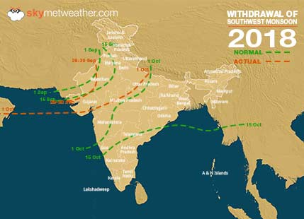 Monsoon 2018 Forecast And Performance In India Latest Weather And
