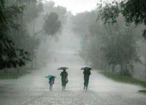 Flooding rain in Odisha
