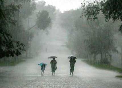 Flooding rain in Odisha