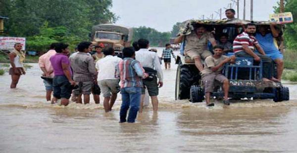 Heavey Rain in Uttar Pradesh