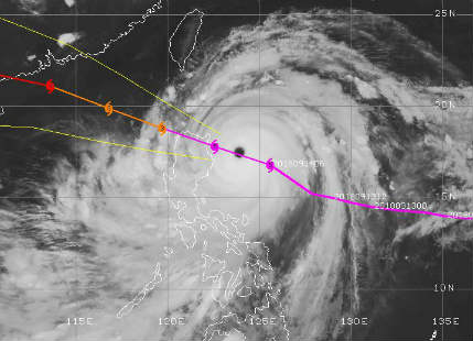 Super Typhoon Mangkhut with mammoth damaging potential to strike Philippines