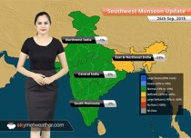 Monsoon Forecast for Sep 27, 2018: Rain in Andhra Pradesh, West Bengal, Sikkim, Assam