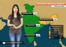 Monsoon Forecast for Sep 28, 2018: Rain in Karnataka, Northeast India, Tamil Nadu, Kerala