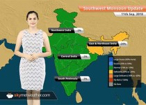 Monsoon Forecast for Sep 12, 2018: Rain in Assam, Meghalaya, Sikkim, Arunachal Pradesh