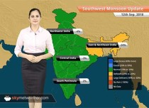 Monsoon Forecast for Sep 13, 2018: Heavy rain likely in Sikkim, parts of Assam, Meghalaya and West Bengal