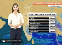 Monsoon Forecast for Sep 21, 2018: Heavy rains likely over Odisha and West Bengal