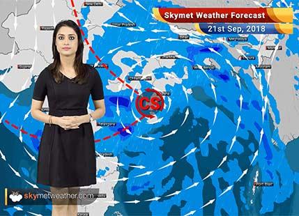 Weather Forecast for Sep 21: Rain in Odisha, WB, Andhra, Telangana