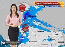 Weather Forecast for Sep 23: Rain in Delhi, Uttarakhand, Odisha, Tamil Nadu, Kerala