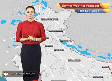 Weather Forecast for Sep 28: Rain in West Bengal, Kerala; Mercury to rise in Delhi, Punjab, Haryana