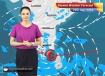 Weather Forecast for Sep 29: Rains in Kerala, Telangana, Coastal AP; Monsoon withdrawal to begin soon