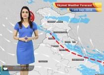 Weather Forecast for Sep 13: Monsoon Rain in Chennai, Bengaluru, West Bengal, Northeast India