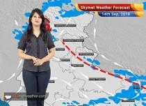 Weather Forecast for Sep 14: Rain in Uttar Pradesh, Bihar, Kashmir, Himachal