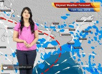 Weather Forecast for Sep 15: Rain in Chennai, Tamil Nadu, Andhra Pradesh